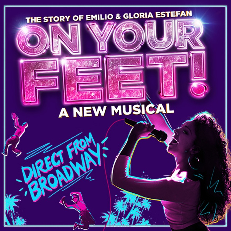 On Your Feet at the London Colliseum Gloria Estefan