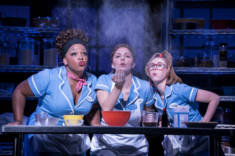 Waitress at the Adelphi Theatre in the West End in London