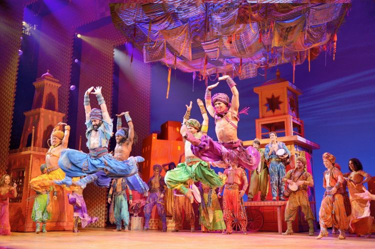 Aladdin at the Prince Edward's Theatre