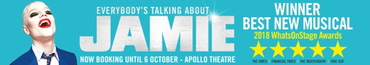 Everybody's Talking About Jamie at the Apollo Theatre