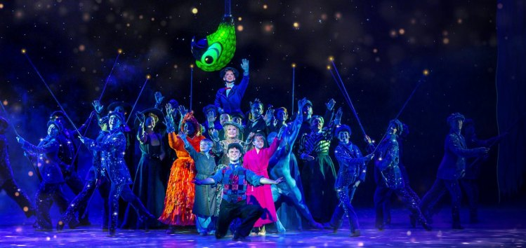 Mary Poppins at the Prince Edward Theatre in London's West End