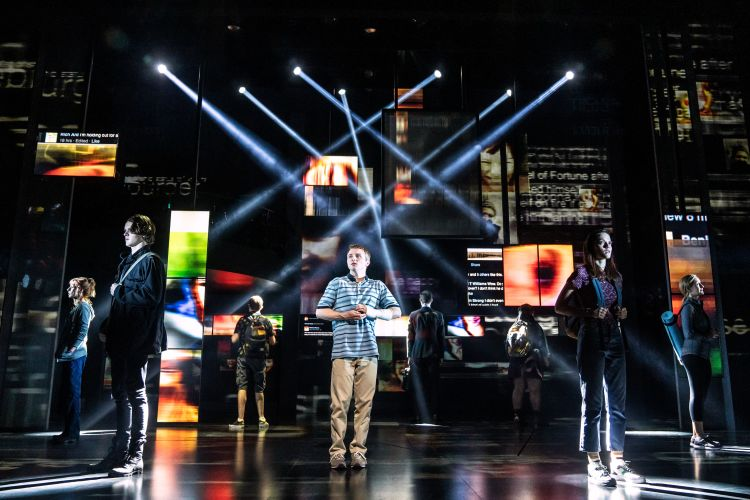 Dear Evan Hansen at the Noel Coward Theatre in London's West End