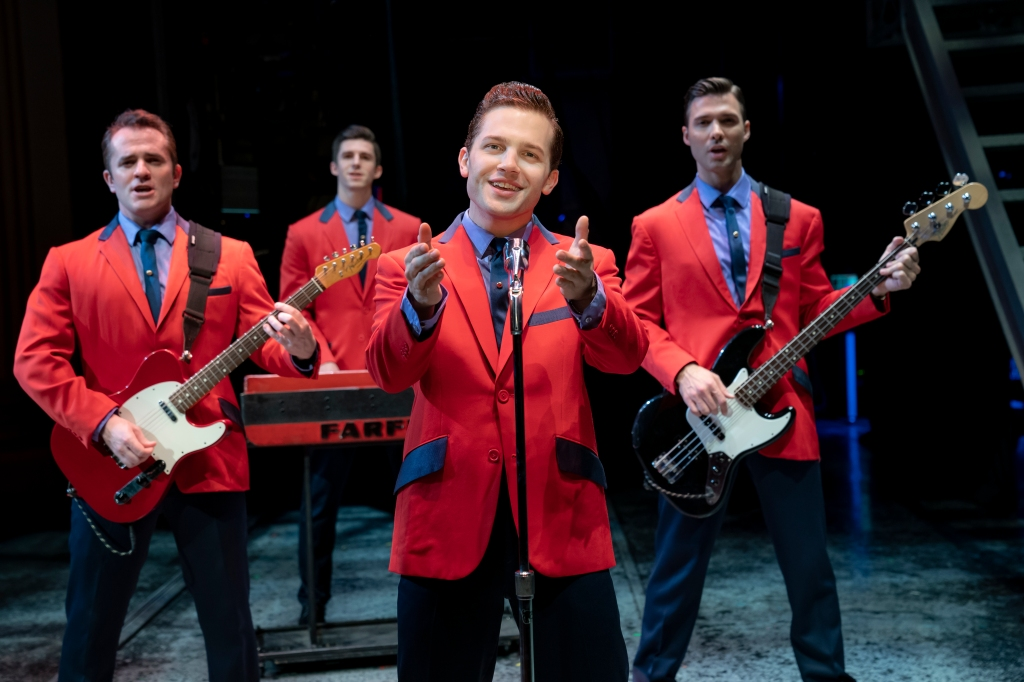 Jersey Boys at the Trafalgar Theatre in London 2021